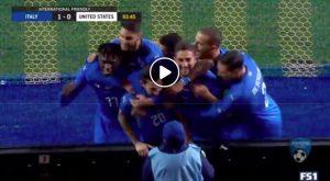 Italia-Usa 1-0 highlights e pagelle, gol decisivo di Politano al 93'
