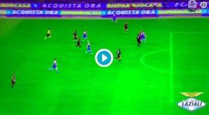L'azione del gol annullato a Milinkovic per fuorigioco di Immobile