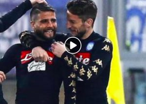 Naples-Chievo Verona, Lorenzo Insigne and Dries Mertens (Ansa)
