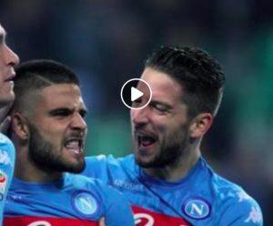Napoli-Empoli 5-1 highlights, pagelle e video gol (Ansa)