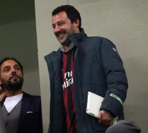 "Salvini against Higuain: ""He was unworthy, I hope for a long disqualification"" (photo Ansa)"