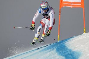 Gian Luca Barandun, the Swiss skier crashes into a paraglider and dies (photo Ansa)