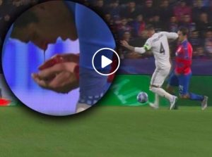 Sergio Ramos ci ricasca, ha rotto il naso a Havel con una gomitata (VIDEO)