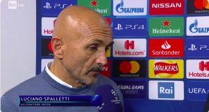 Spalletti, lite con Antinelli (Rai) su infortunio di Nainggolan dopo Tottenham-Inter