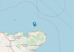 Terremoto Foggia, due scosse registrate al largo del Gargano