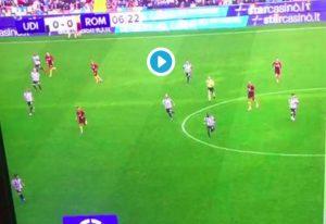 Udinese-Roma, cori contro i napoletani: tifoserie si applaudono a vicenda