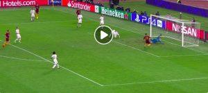 Under sbaglia gol a porta vuota in Roma-Real Madrid (VIDEO)