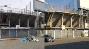 """Atalanta: """"Spazzatura davanti allo stadio per offendere Napoli? Foto è un fake"""""""