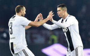 Juve trionfa nel derby, Cristiano Ronaldo decisivo. Bianconeri volano a +11 sul Napoli