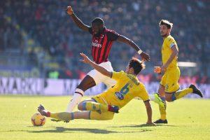 Frosinone-Milan highlights