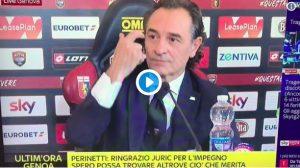 """Genoa, Prandelli che gaffe: """"Non possiamo parlare di fi*a"""" VIDEO"""
