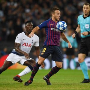 Barcellona Tottenham streaming
