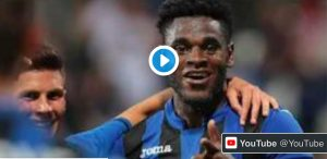 Atalanta-Lazio 1-0 highlights, Duvan Zapata VIDEO GOL. Radu che errore