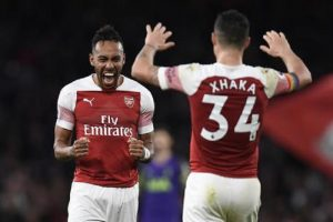 """Arsenal: Aubameyang, Ozil, Lacazette and others caught on """"hippy crack"""""""