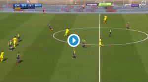Chievo-Inter 0-1, Perisic ha portato in vantaggio i nerazzurri
