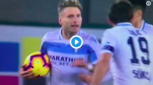 Chievo-Lazio 1-1, highlights e pagelle: Immobile ha risposto a Pellissier