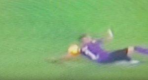 Fiorentina-Juventus, mano di Biraghi su cross di De Sciglio: per VAR non è rigore