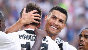 Cristiano Ronaldo ha segnato il gol numero 5000 della Juventus in Serie A