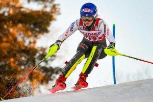 Skiing: Mikaela Shiffrin triumphs in giant, Federica Brignone fourth