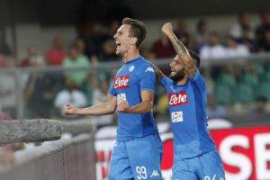 Milik decisivo a Bergamo, il Napoli torna a -8 dalla Juventus