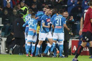 Serie A: Napoli torna a -8 dalla Juve. Roma soffre ma vince e salva panchina Di Francesco