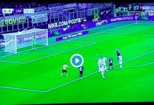Rigore Inter-Udinese assegnato dal var fa discutere sui social