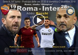 roma-inter highlights pagelle video gol