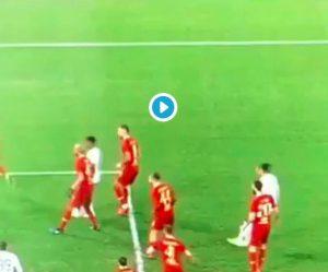 Roma-Sassuolo, VIDEO: Schick sfiora autogol clamoroso. Non è gol per pochi millimetri