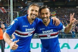 Sampdoria-Bologna 4-1, pagelle: Quagliarella doppietta show, Praet-Ramirez gol