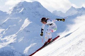Skiing, World Cup: Nicol Delago second on the Saslong track (photo by Ansa)