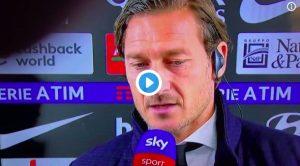 """Roma-Inter, Totti e Pallotta in coro: """"Rigore su Zaniolo, come si fa a non darlo? Che ci sta a fare il VAR? Vergognoso..."""""""