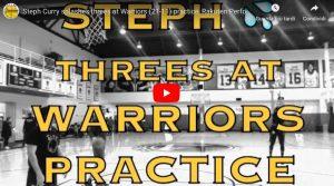 YouTube, Curry: 21 triple di fila durante allenamento con Golden State Warriors (VIDEO)