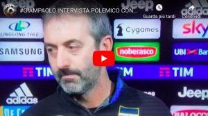 """Giampaolo: """"Juventus-Sampdoria? Hanno vinto grazie a un rigore regalato"""""""