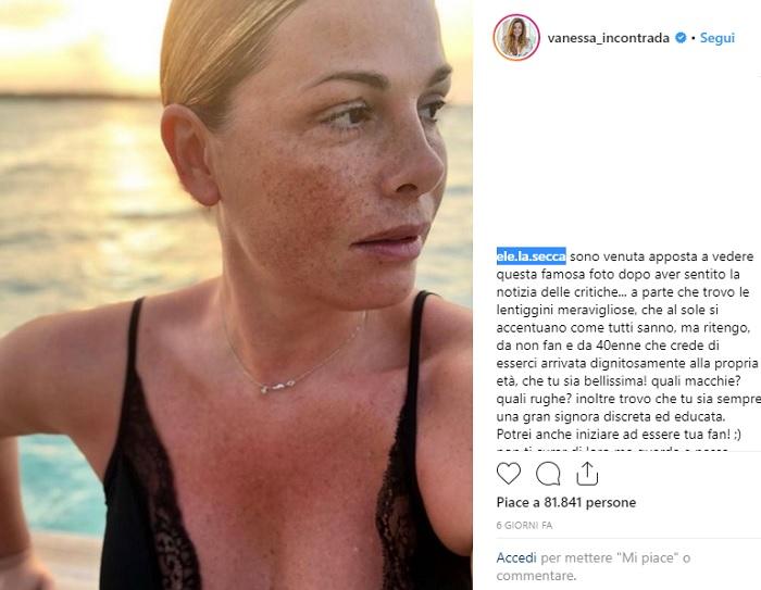 Calendario Vanessa Incontrada.Vanessa Incontrada Criticata In Tanti La Difendono Belle