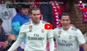 Bale, gesto dell'ombrello dopo gol in Atletico-Real Madrid 1-3 (VIDEO)
