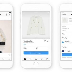 Instagram (Facebook) sfida Amazon e eBay nel commercio online