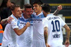 Inter-Lazio 0-1, gol di Milinkovic Savic su assist di Luis Alberto