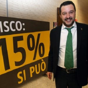 Flat tax, Matteo Salvini ha vinto al Superenalotto