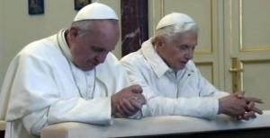 Inferno: sarete pochi, senza fiamme e tormenti fisici, ma ci andrete se...Ratzinger e Bergoglio sono d'accordo