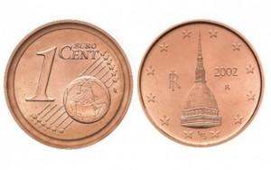 Cerca il centesimo che vale 2500 euro: sul retro c'è la Mole antonelliana