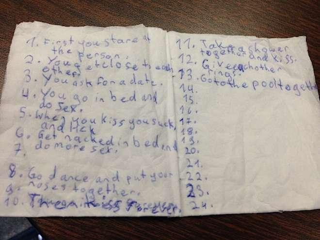 La guida per innamorarsi scritta da due bambine di otto anni