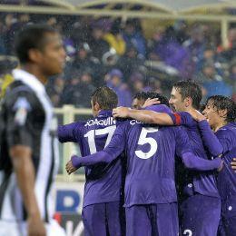 Coppa Italia, Fiorentina-Siena 2-1 viola in semifinale contro l'Udinese (Ansa)