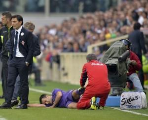 Fiorentina, Giuseppe Rossi: lesione legamento collaterale, no a operazione (LaPresse)