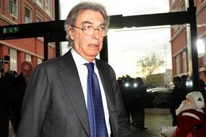 Inter, Massimo Moratti alla Pinetina per incontrare Walter Mazzarri (LaPresse)