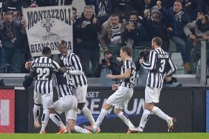 Juve, è fuga per lo scudetto: 3-0 alla Roma (LaPresse)