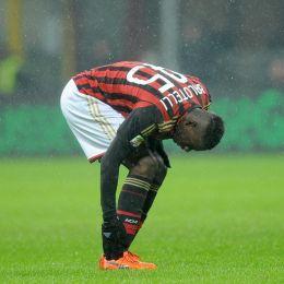 """Milan, Mario Balotelli """"Dedico il gol a Clarence Seedorf"""" (Ansa)"""