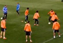 Real Madrid, Cristiano Ronaldo beffa Pepe e Ancelotti se la ride