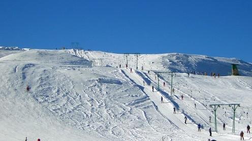Bufera di neve sul Monte Livata: 60 cm in poche ore