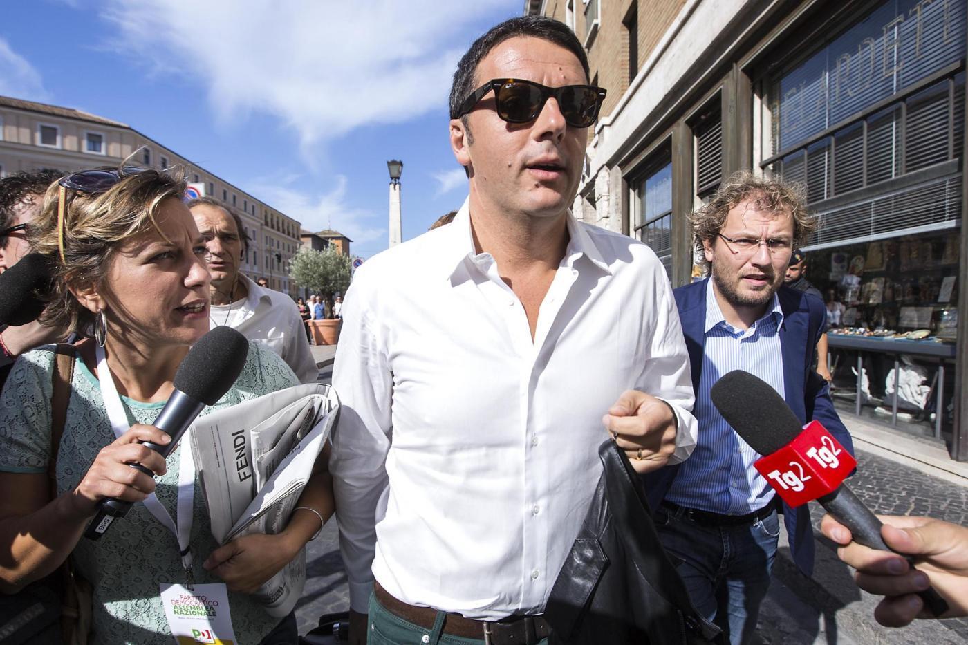 Pierluigi Bersani, visita di Renzi all'ospedale di Parma