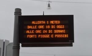 Maltempo:allerta meteo,rischio idrogeologico critico Liguria